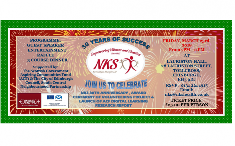 NKS 30 YEARS OF SUCCESS, JOIN US TO CELEBRATE!